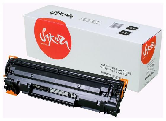 Картридж Sakura CE278A для HP laser Pro P1560/1636/1566/1600/1606 черный 2100стр картридж profiline pl ce278a для hp lj pro p1560 p1566 p1600 p1606dn m1536 2100стр