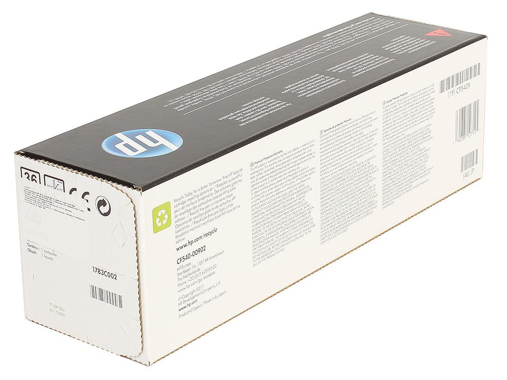 Картридж HP CF540X (HP 203X) для HP LaserJet M254/M280/M281. Чёрный. 3200 страниц.