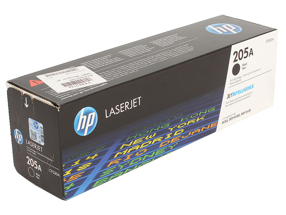 Картридж HP CF530A (HP 205A) для HP LaserJet M180/M181. Чёрный. 1100 страниц. цена 2017