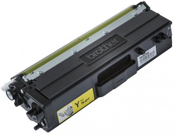 Тонер-картридж Brother TN421Y желтый 1800стр для Brother HL-L8260/8360/DCP-L4810/MFC-L8690/8900