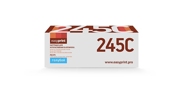 Картридж EasyPrint LB-245C Cyan (голубой) 2200 стр для Brother HL-3140CW/3150CDW/3170CDW / DCP-9020CDW / MFC-9140CDN/9330CDW/9340CDW tn221 refill color laser toner powder kits for brother mfc 9130cw 9140cdn 9330cdw 9340cdw 9130 9140 9330 9340 hl3140cw printer