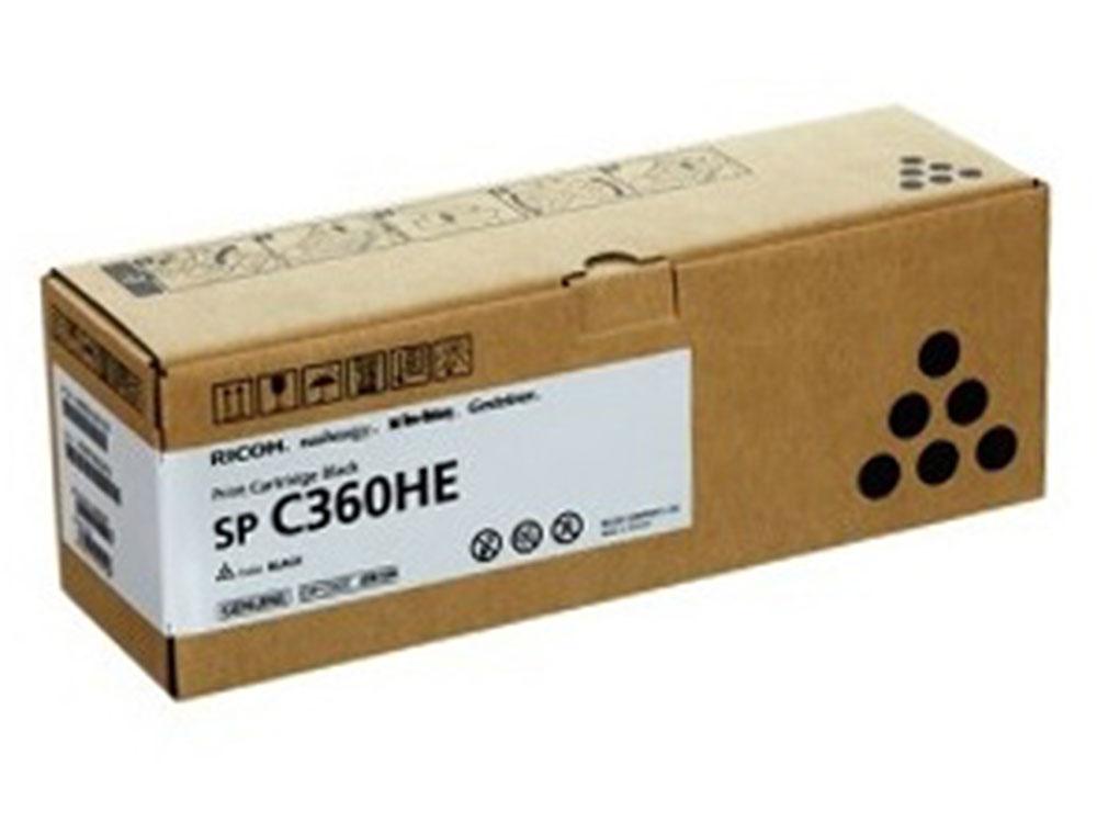 Принт-картридж Ricoh C360HE Черный (black) 7000 стр. для Ricoh SP C360DN/360SNw/360SFNw/361SFNw картридж ricoh 841196 black