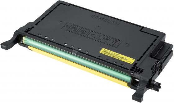 Картридж Samsung SU563A CLT-Y609S для CLP-770ND желтый картридж samsung clt m609s для clp 770nd пурпурный