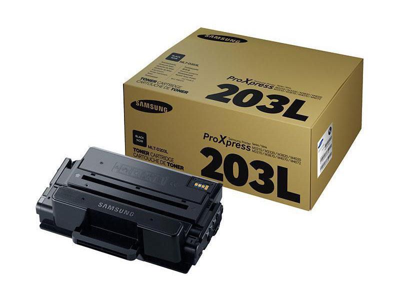 Картридж Samsung SU899A MLT-D203L для Samsung SL-M3820/3870/4020/4070. Черный. 5000 страниц. картридж samsung mlt d203 для sl m4020 4070 mlt d203u see черный 15000стр