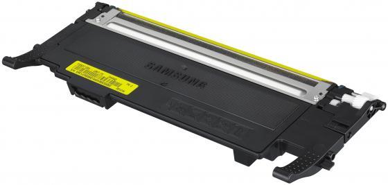Картридж Samsung ST998A CLT-C407S желтый (yellow) 1000стр. для Samsung CLP-320/325 / CLX-3185 картридж clt c407s see