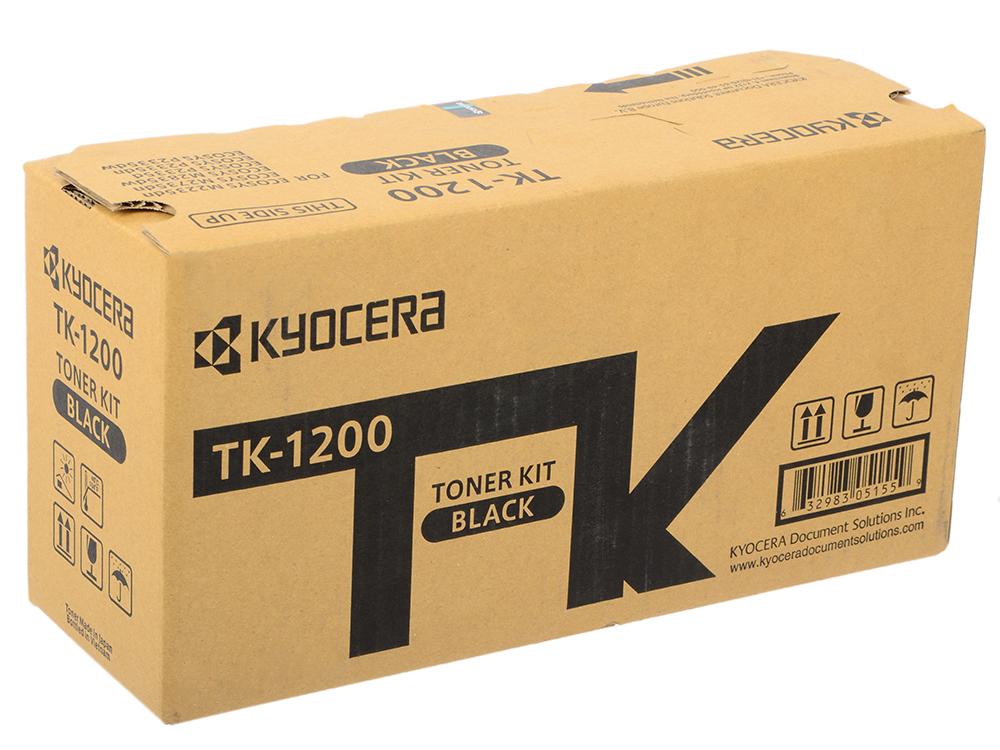 Картридж Kyocera TK-1200 черный (black) 3000стр. для Kyocera Ecosys P2335/M2235/2735/2835 для tk 58