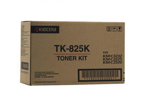 Картридж Kyocera TK-825K для KM C2520 C3225 C3232 черный 15000стр new original kyocera 2gr17120 lamp scanner for km 4050 5050 c3225 c3232