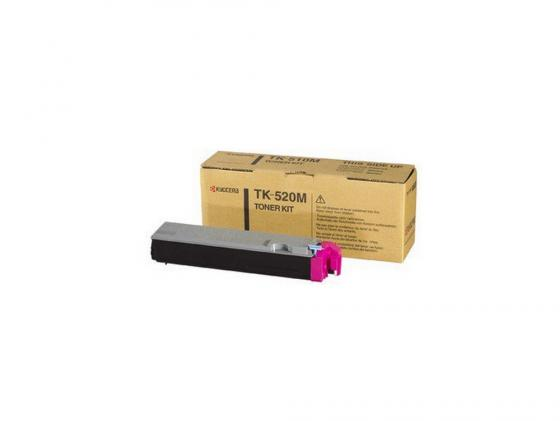 Картридж Kyocera TK-520M для FS C5015N пурпурный 4000стр