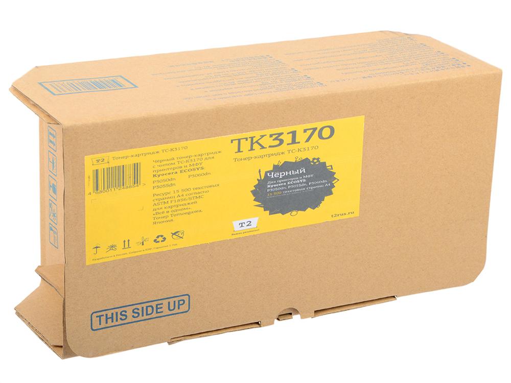 Картридж T2 TC-K3170 черный (black) 15500 стр. для Kyocera P3050dn/P3055dn/P3060dn картридж t2 tc k1120 черный