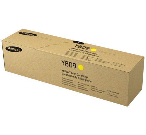 Картридж Samsung SS743A CLT-Y809S для CLX-9201NA/CLX-9251NA/CLX-9301NA желтый