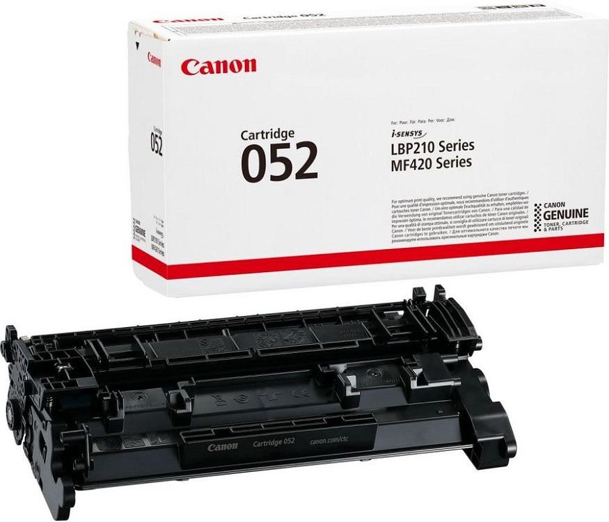 Картинка для Картридж Canon 052Bk черный (black) 3100 стр. для Canon MF421dw/MF426dw/MF428x/MF429x