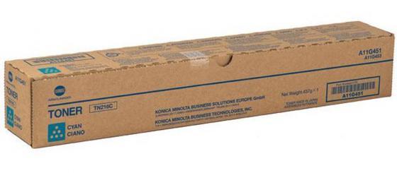 Тонер Konica Minolta TN-216C для Bizhub C220/C280 голубой jrled jr led 5050 smd 14 4w 500lm orange led luminous module white yellow dc 12v