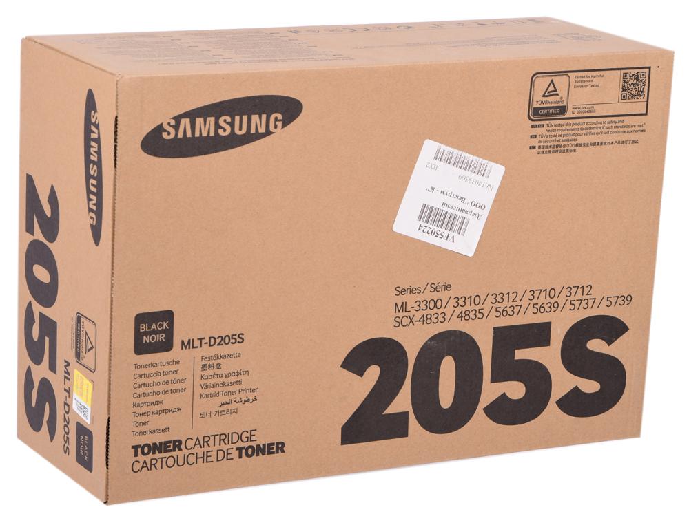 Картридж HP для Samsung MLT-D205S черный (black) 2000 стр. для Samsung ML-3310/3710 / SCX-56374833 картридж colortek mlt d117s black для samsung scx 4650n 4655fn