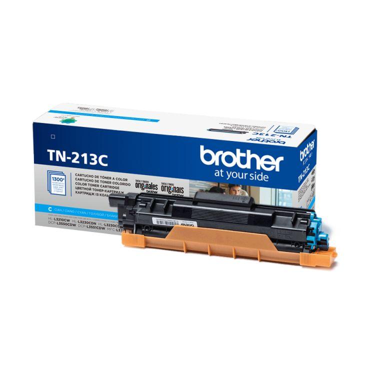 Картридж Brother TN213C голубой (cyan) 1300 стр. для Brother HL-L3230CDW / DCP-L3550CDW / MFC-L3770CDW brother lc1220y yellow картридж для brother dcp j525w mfc j430w mfc j825dw