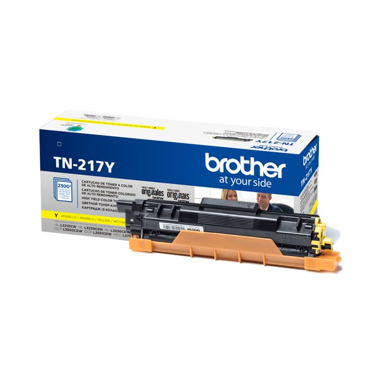 Картридж Brother TN217Y желтый (yellow) 2300 стр. для Brother HL-L3230CDW / DCP-L3550CDW / MFC-L3770CDW brother lc565xl yellow