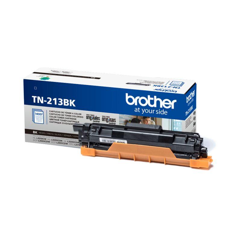 Картридж Brother TN213BK черный (black) 1400 стр. для Brother HL-L3230CDW / DCP-L3550CDW / MFC-L3770CDW