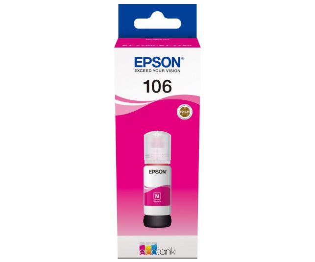 Картридж Epson T00R340 пурпурный (magenta) 70 мл для Epson L7160/7180 картридж epson c13t10534a10