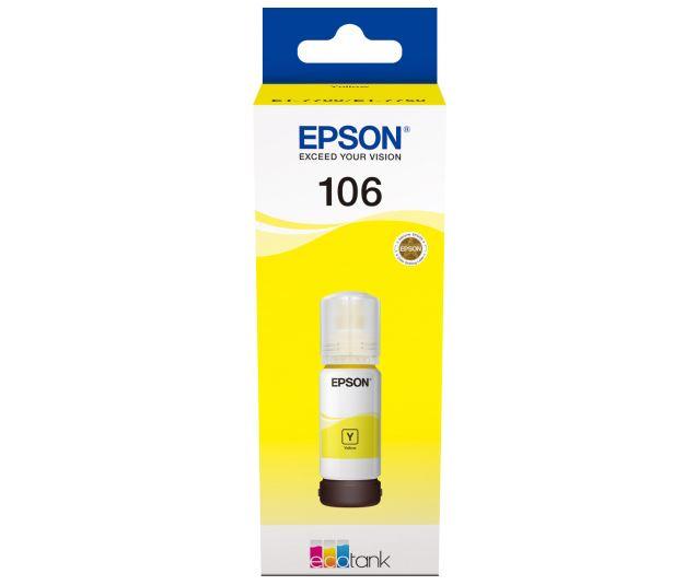 Картридж Epson T00R440 желтый (yellow) 70 мл для Epson L7160/7180 epson c13t17044a10 yellow