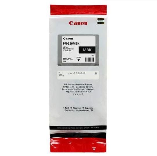 Картридж Canon PFI-320MBK матовый чёрный (matte black) 300 мл для Canon imagePROGRAF TM-200/205/300/305 pfi 320 matte black 300 мл 2889c001