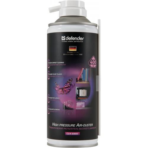 цены Сжатый воздух Defender 30805 (для чистки ПК) 400мл