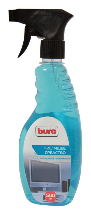 Спрей Buro BU-Tv_Lcd500 для экранов телевизоров, (спрей-триггер, 500мл) спрей buro bu snote для ноутбуков 250мл