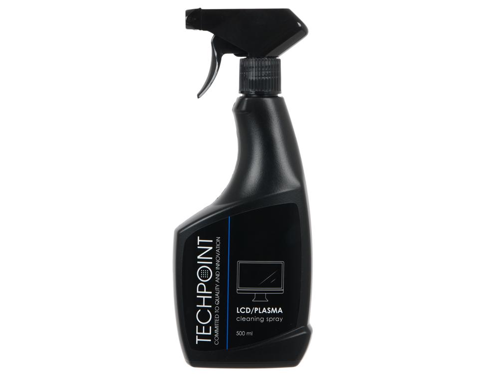 Спрей для комплексного ухода за техникой (для экранов и пластика). 500 мл. TechPoint 1136 Cleaning Spray LCD/Plasma