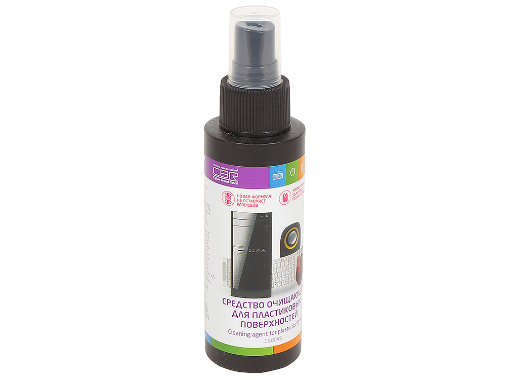 Средство очищающее для пластиковых поверхностей CBR CS 0045, 100 мл., CS 0045 футболка с полной запечаткой для мальчиков printio гадкий я миньоны