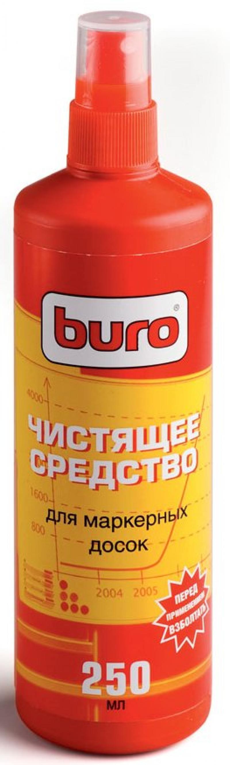 Чистящее средство Buro BU-Smark для очистки маркерных досок 250мл спрей buro bu snote для ноутбуков 250мл