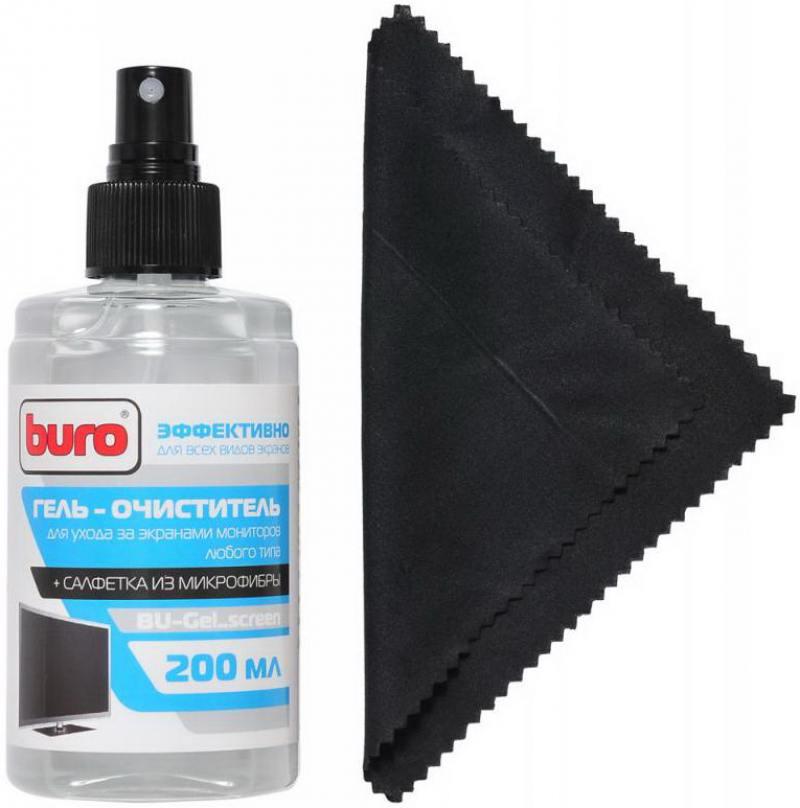Картинка для Набор для ухода за техникой BURO BU-Gel_screen 200 мл