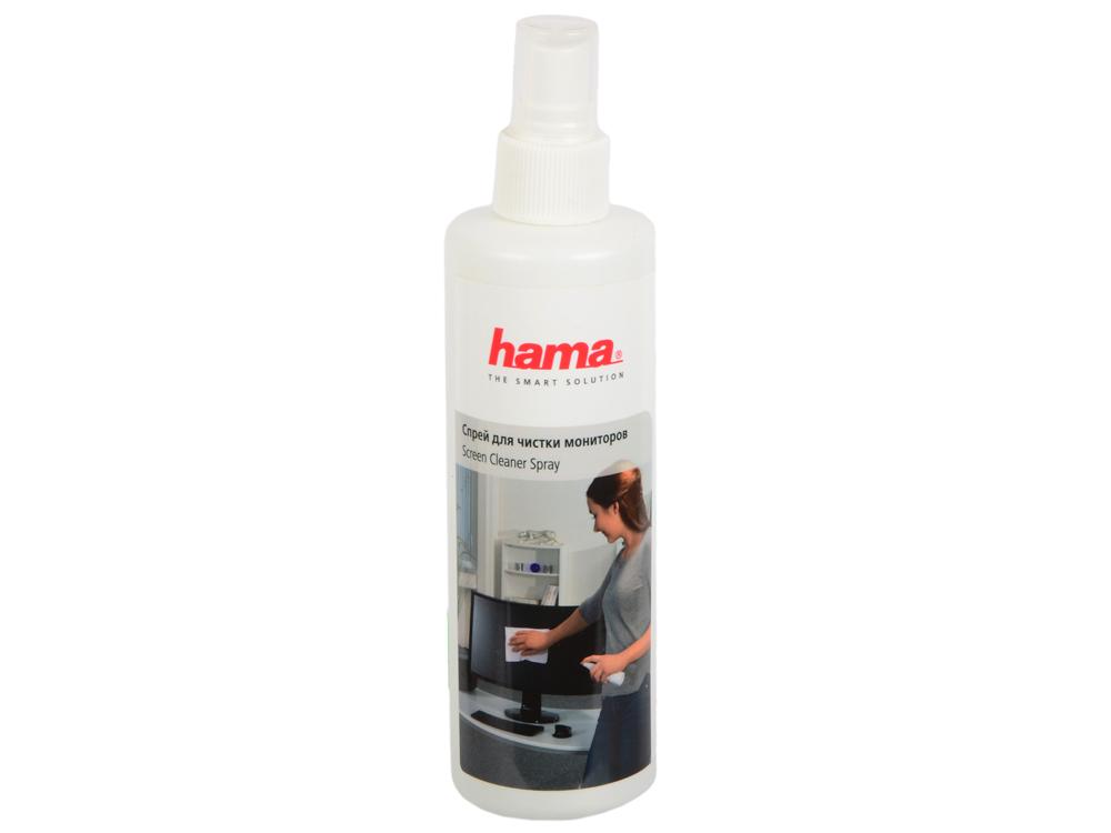 Спрей для экранов HAMA H-R1084189 250 мл чистящий спрей hama r1084189