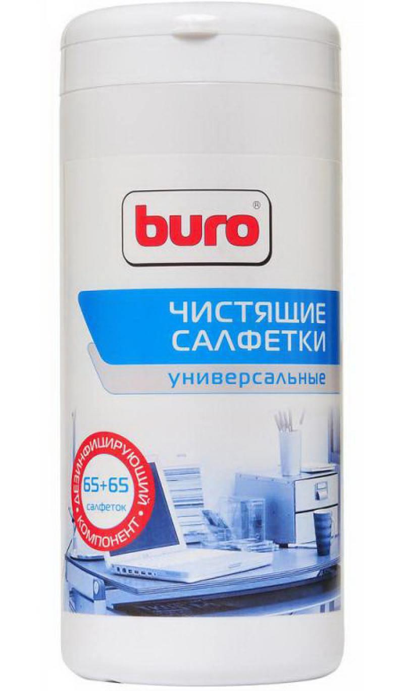 Влажные салфетки BURO BU-Tmix 65 шт салфетки влажные авангард 48107 15 шт влажная