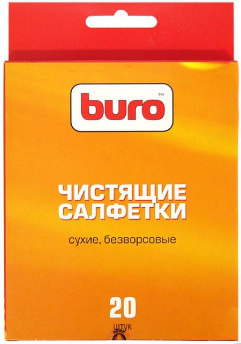 Чистящие салфетки BURO BU-UDRY 20 шт цена