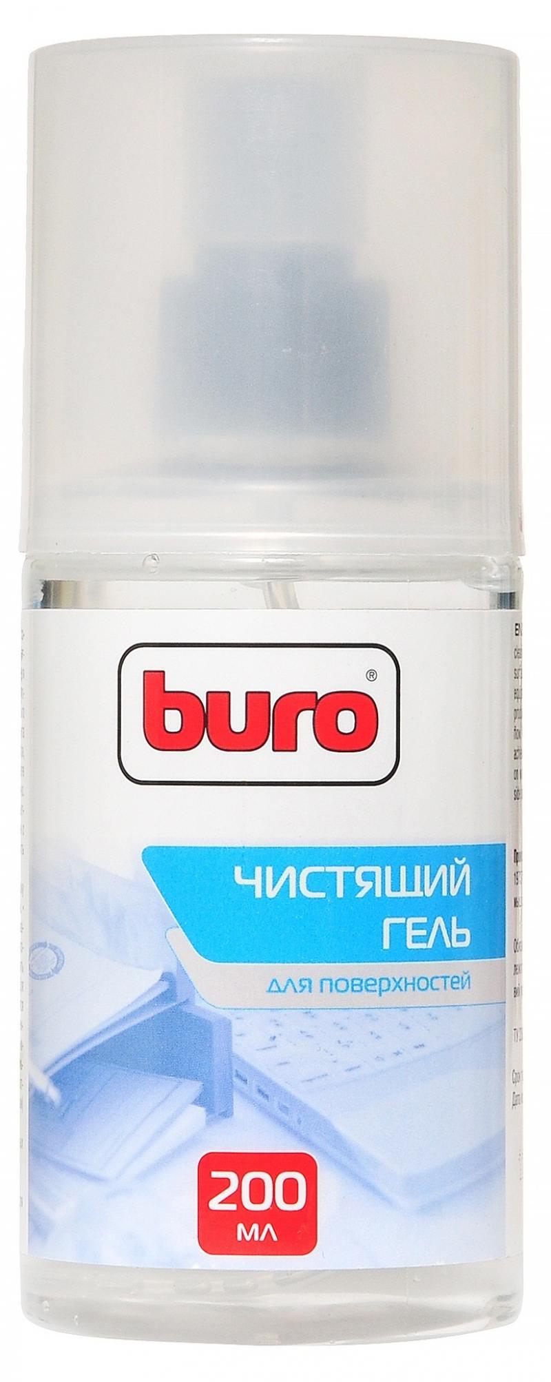 Набор для ухода за техникой BURO BU-GSURFACE 200 мл + салфетка из микрофибры цена