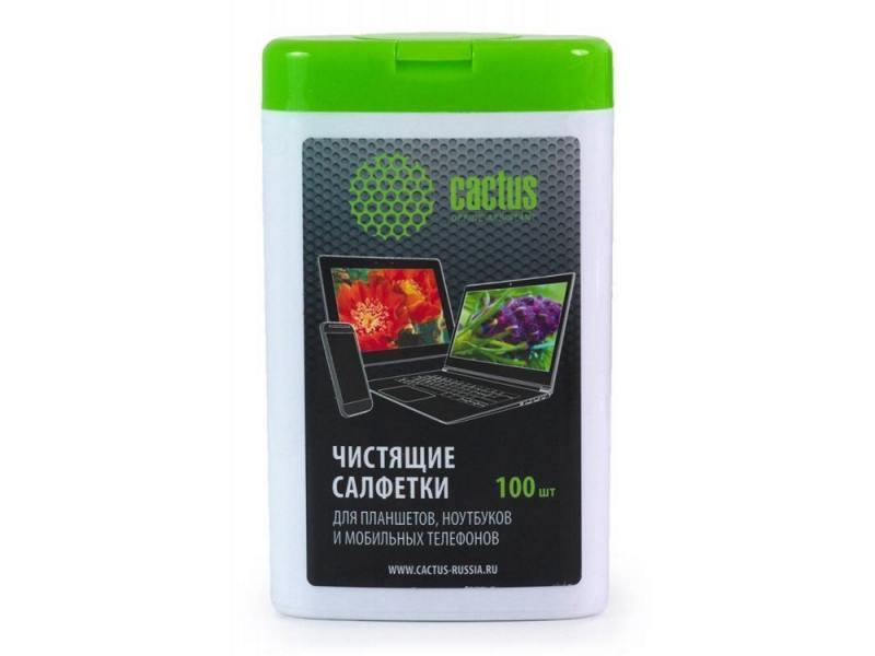 Влажные салфетки Cactus CS-T1005 100 шт