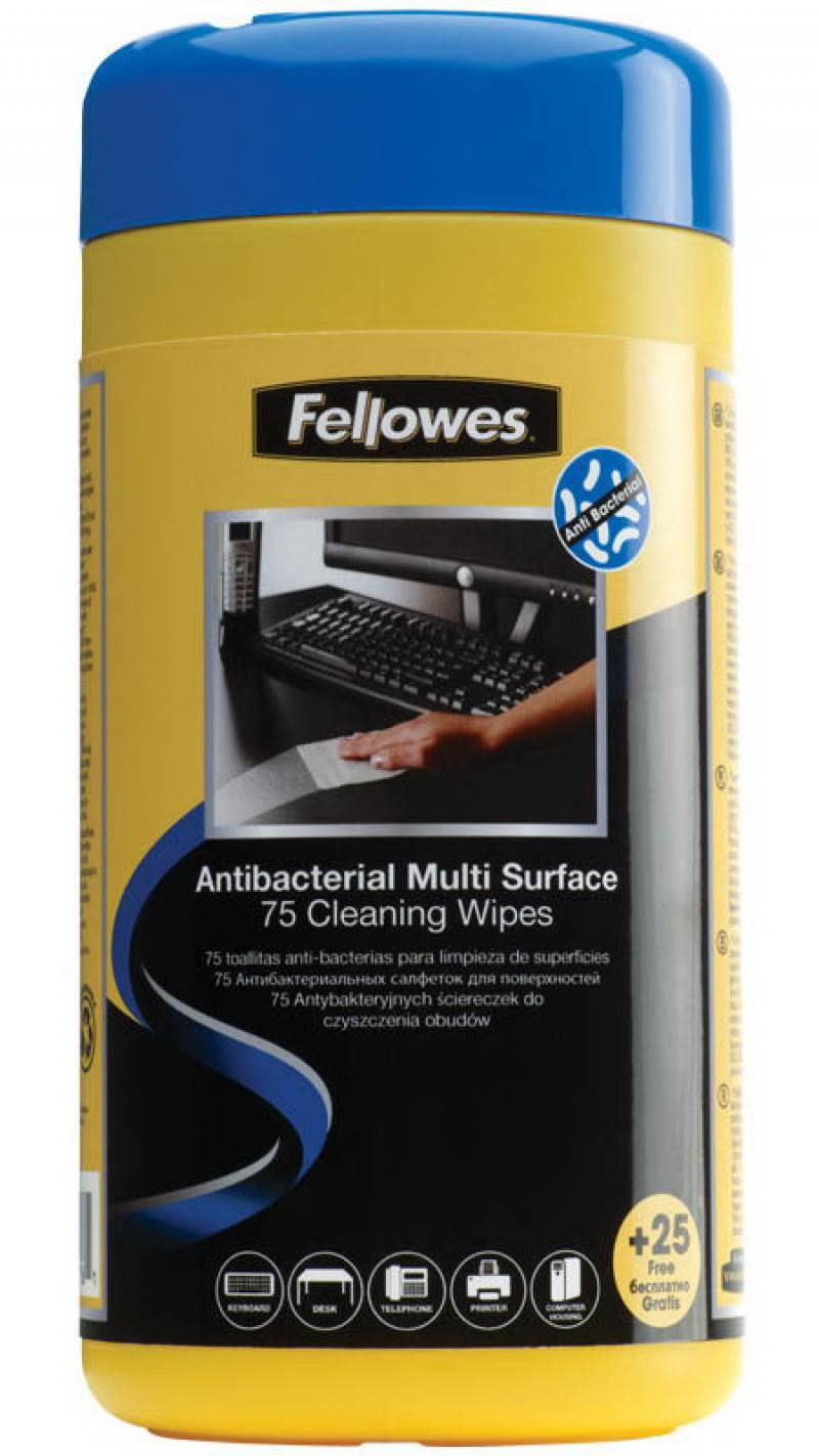 все цены на Влажные салфетки Fellowes FS-2210907 100 шт
