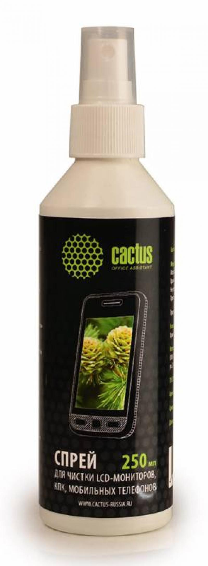 Спрей для экранов Cactus CS-S3002 250 мл