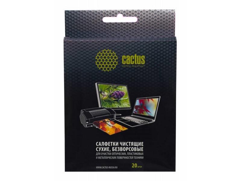 Чистящие салфетки Cactus CS-T1003 20 шт diesel y01169 p0878 t1003