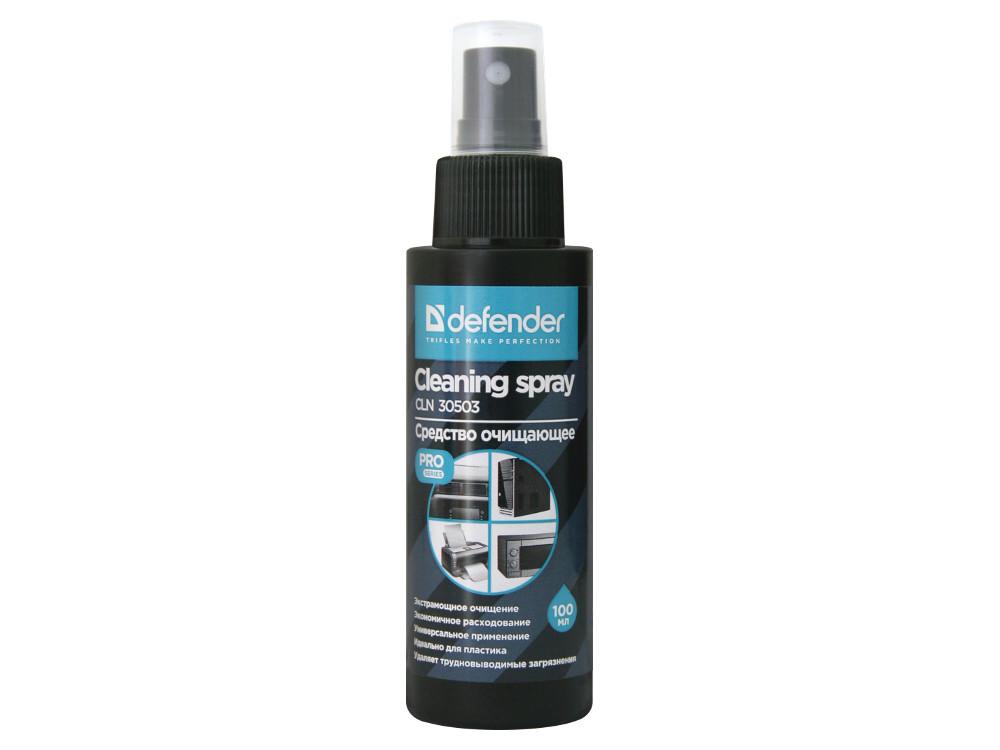 Очищающий спрей Defender CLN 30503 PRO 100мл,экстрамощное очищение спрей очиститель defender cln 30503 pro