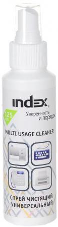 Спрей чистящий для пластика Index 125мл ICCS125M краска спрей для пластика белая kudu 520мл