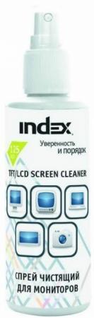 Спрей чистящий для мониторов Index 125мл ICCS125G