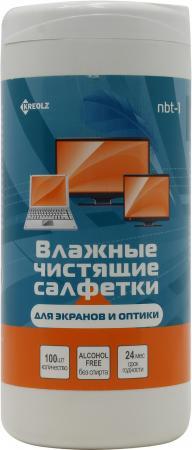 Влажные салфетки Kreolz NBT-1 100 шт
