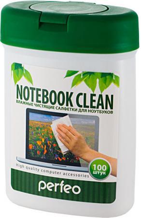 Чистящие салфетки Perfeo Notebook Clean 100 шт PF-T/NBmini-100 hgh20ca 100