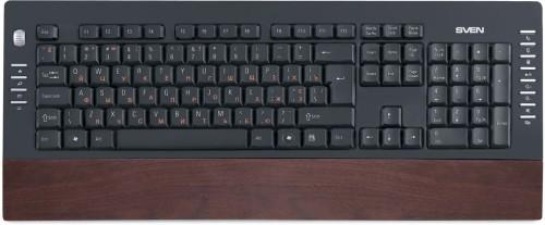 все цены на Клавиатура SVEN Comfort 4200 Wooden онлайн