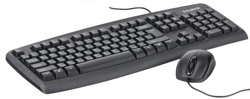 Комплект кл-ра+мышь Zalman ZM-K380 Combo