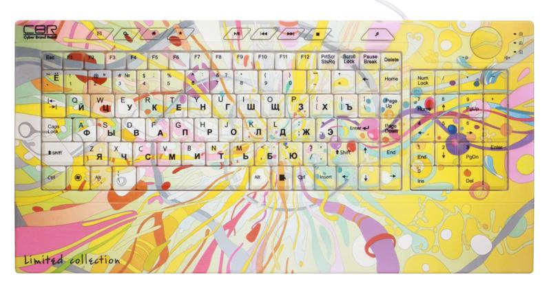 Клавиатура CBR Picture