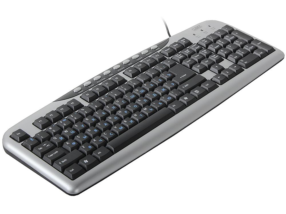 все цены на Клавиатура CBR KB 300M, 107+9 доп. кл., USB онлайн
