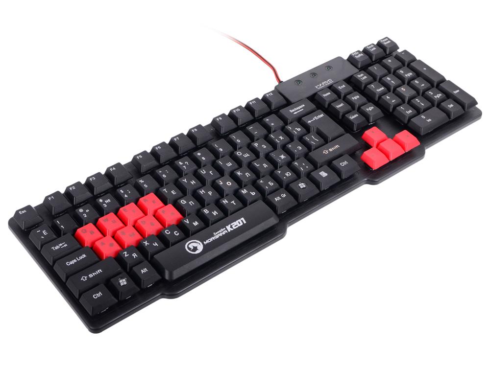 Игровая проводная клавиатура Marvo K201 - 104 кл