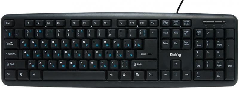 Клавиатура Dialog KS-020U USB черный