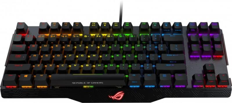 Клавиатура ASUS 90MP00I1-B0RA00 USB черный asus vz229h