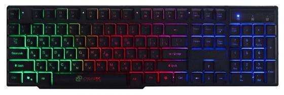 Клавиатура проводная Oklick 780G USB черный клавиатура проводная oklick 190m usb черный 945657